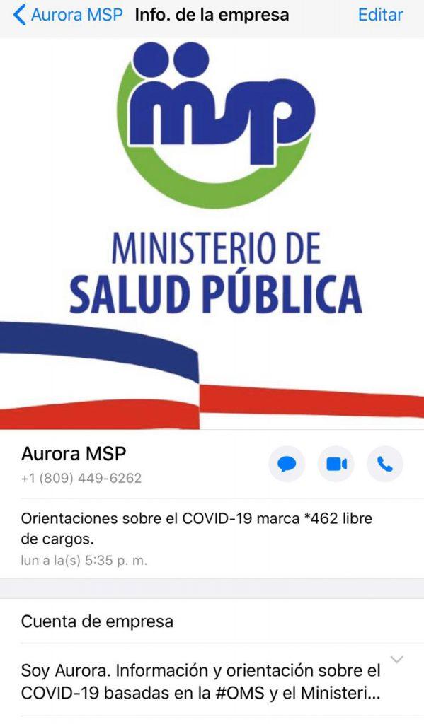 Aurora MSP en WhatsApp