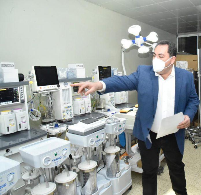 Entrega de equipos hospital Antonio Musa